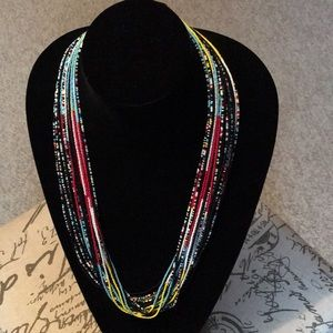 Jewelry - Multi Strand Beaded Necklace